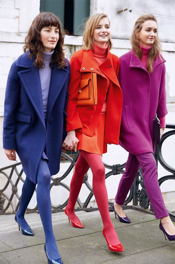 A Prova de que os Looks Monocromáticos Coloridos são o Hit do Inverno » STEAL THE LOOK